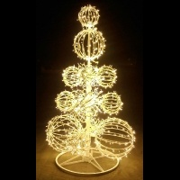 8' Grand Illuminated Sculpture
