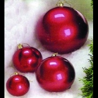 3 to 24 in Metallic Ball<br />Ornaments
