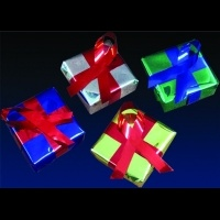 4 x 4 x 2 in Metallic Wrapped<br />Packages