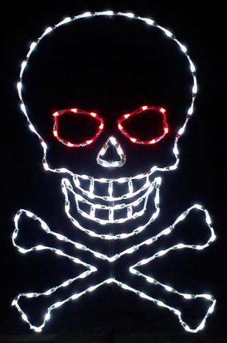 5' Skull and Crossbones