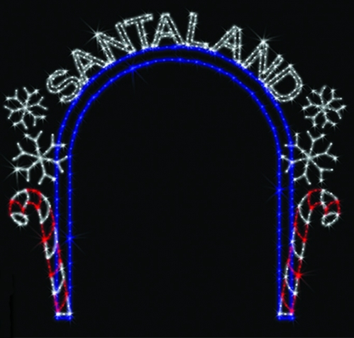 13' x 12' Santaland Arch copy