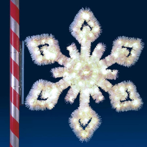 6' Crystal Snowflake