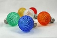 LED G30, G40, G50 Multicolor<br />Faceted Replacement Bulbs