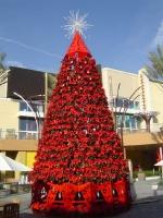 32' Poinsettia Tree