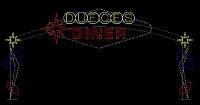 Dueces Diner Custom Arch