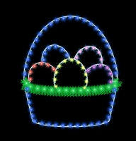 5' Basket With Eggs