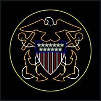 12' Navy Insignia