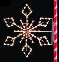 5.5' Crystal Snowflake