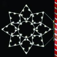 5' Silhouette Alaskan Snowflake